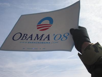ObamaCommercialRisingHands